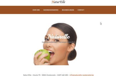 aanmaak website Naturelle Oosterzele